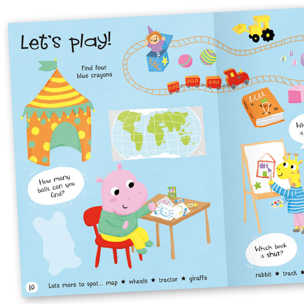 Lots to Spot: At Home! Sticker Book