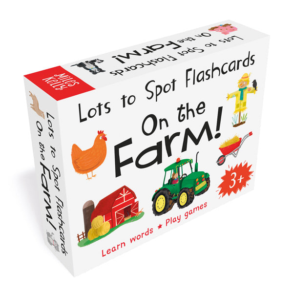 Lots to Spot Flashcards: On the Farm!
