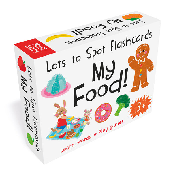 Lots to Spot Flashcards: My Food!