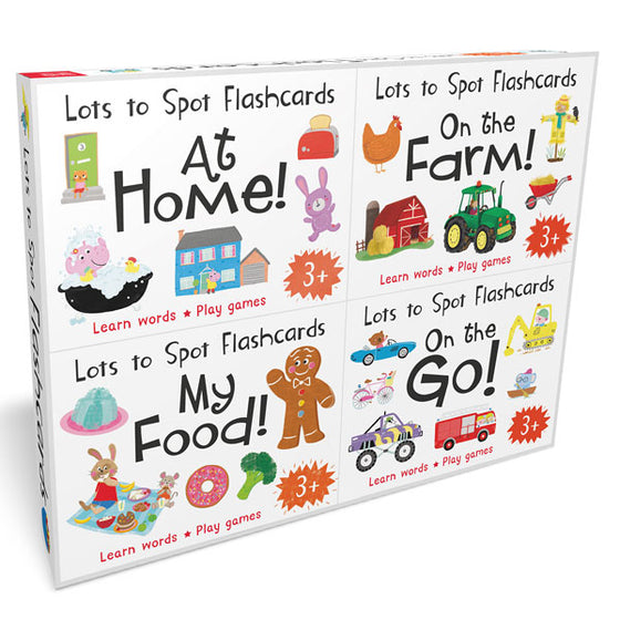 Lots to Spot Flashcards Set