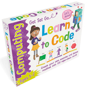 Get Set Go Computing: Learn to Code Flashcards