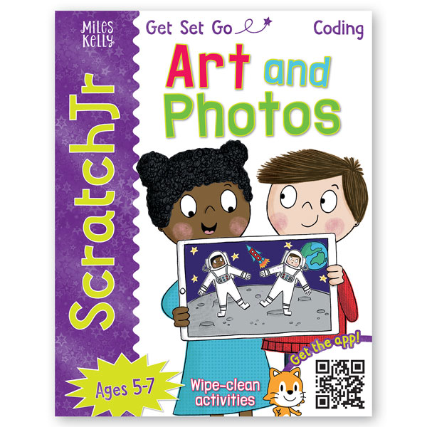 Get Set Go Coding: Art and Photos (ScratchJr)