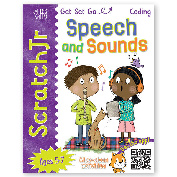 Get Set Go Coding: Speech and Sounds (ScratchJr)