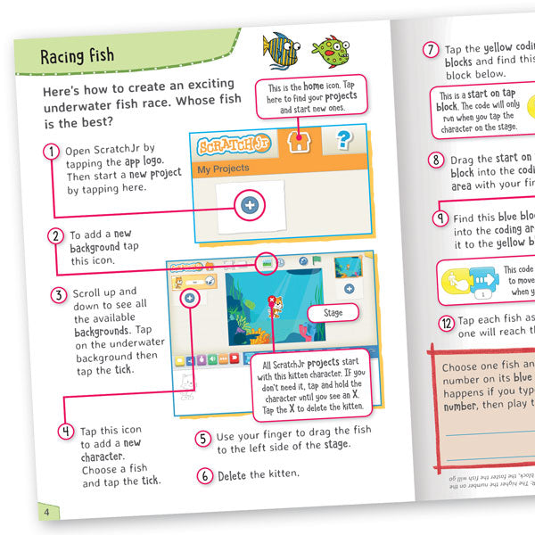 Get Set Go Coding: Making Games (ScratchJr)