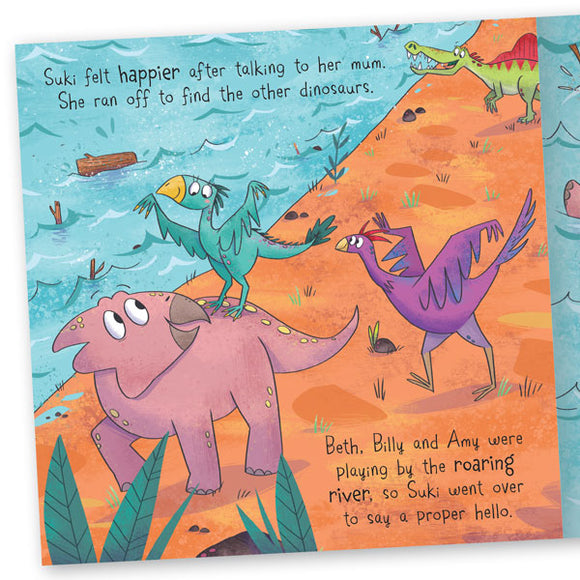 Dinosaur Adventures: Spinosaurus – The roaring river