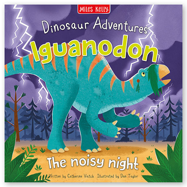 Dinosaur Adventures: Iguanodon – The noisy night