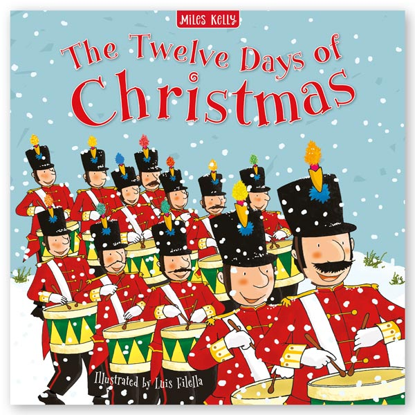 Christmas Time The Twelve Days of Christmas Giant hardback