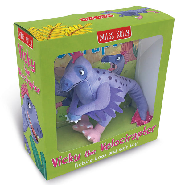 Vicky the Velociraptor Gift Box