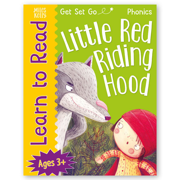 Get Set Go Learn to Read: Little Red Riding Hood