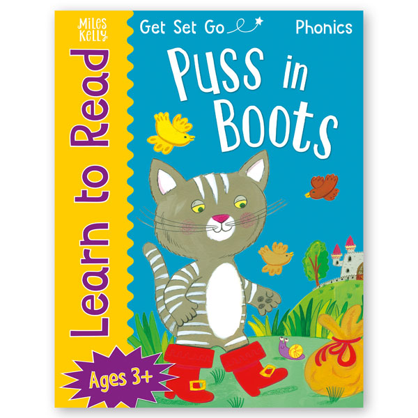 Get Set Go Learn to Read: Puss in Boots