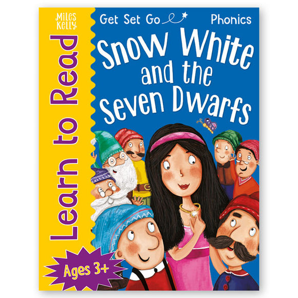 Get Set Go Learn to Read: Snow White and the Seven Dwarfs