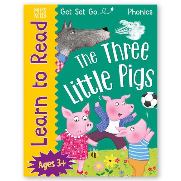 Get Set Go Learn to Read: The Three Little Pigs