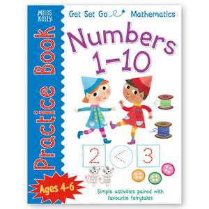 Get Set Go Mathematics Practice Book: Numbers 1–10