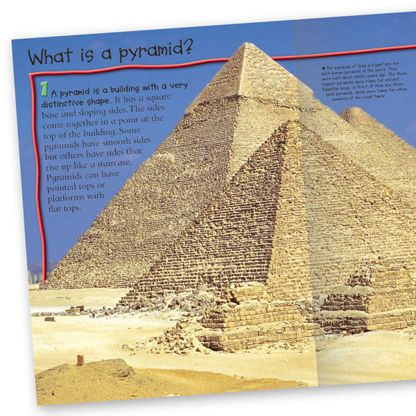 100 facts pyramids top ancient egypt book for kids miles kelly