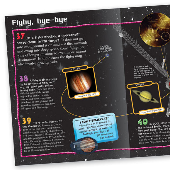 100 Facts Exploring Space