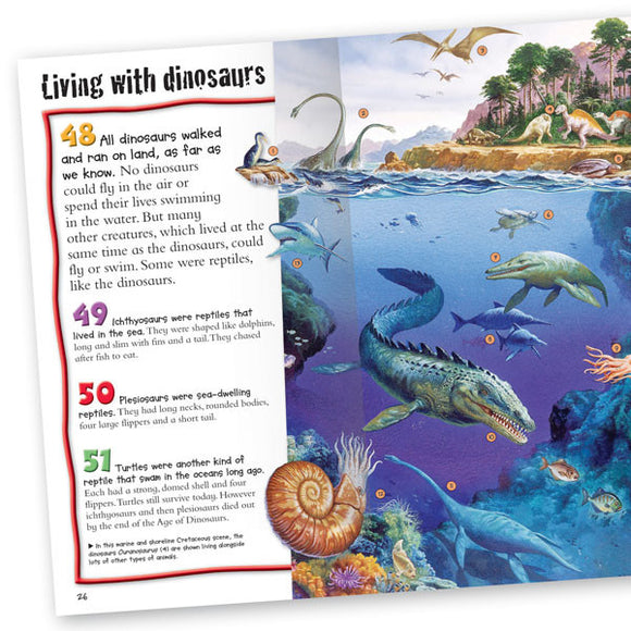 Pocket Edition 100 Facts Dinosaurs