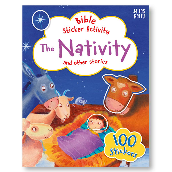 Bible Sticker Activity: The Nativity