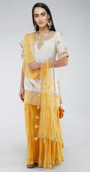 Sharara Suit with Dabka Embroidery