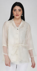 Organza Jacket Shirt