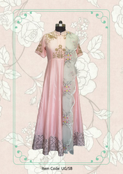 Shoulder Birds Anarkali
