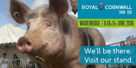Come and see us at the Royal Cornwall Show.