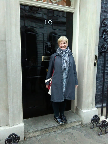 Karen Wanless from Zamsoe invited to No 10 Downing Street.