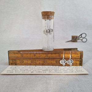 Button Earrings in a Bottle Zamsoe Earrings