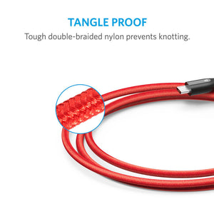 Anker Powerline+ Micro USB 3ft with Nylon Braided Tangle-Free Micro USB Cable