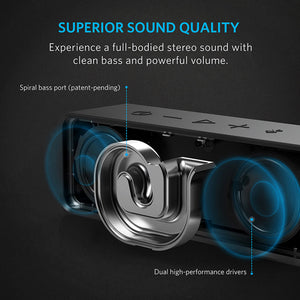 Anker SoundCore Bluetooth Stereo Speaker UN Black