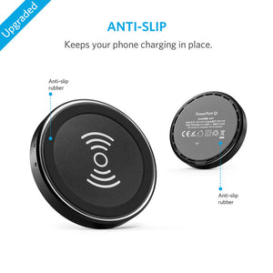 Anker PowerPort Qi slim wireless charger Black 2nd Edition