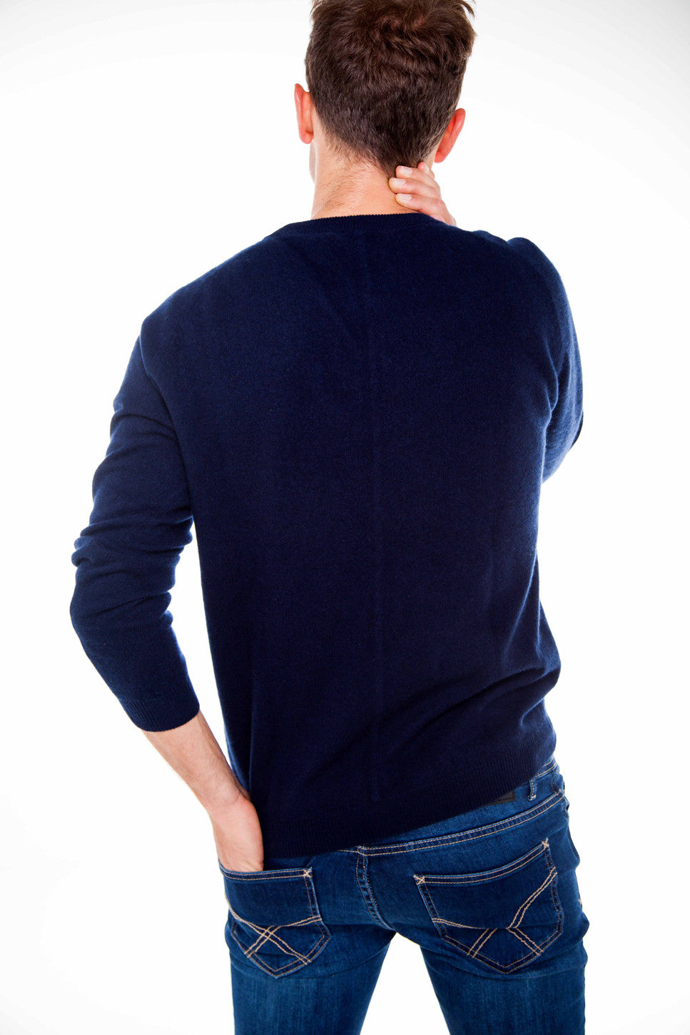 The Cashmere Crew Neck Knit