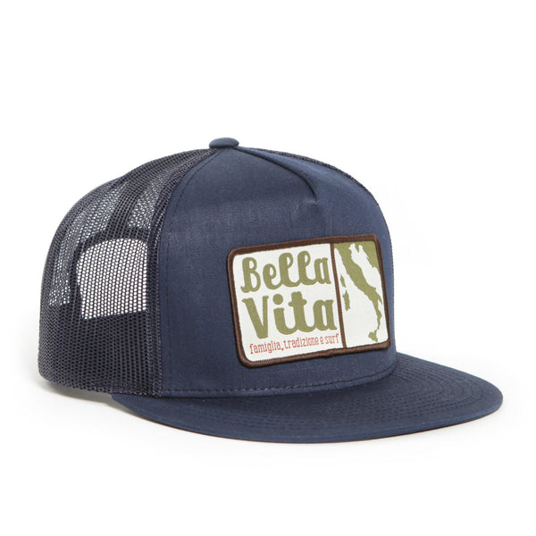 Bella Vita - Patch Hat (Navy)