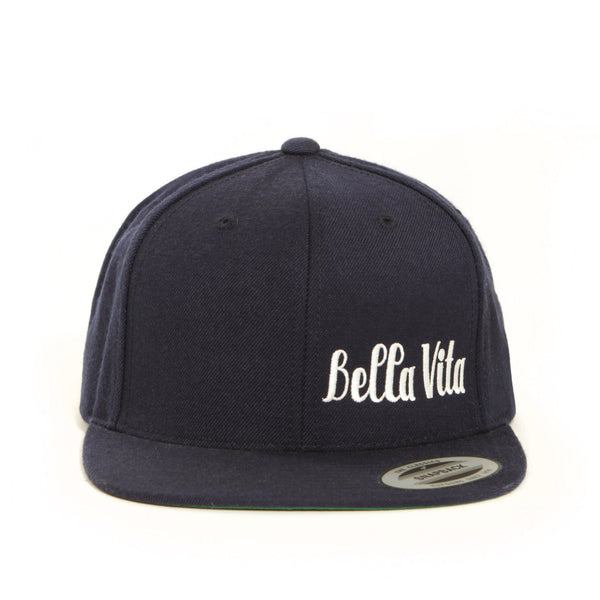 Bella Vita - 6-Panel Snapback (Navy)