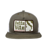 Bella Vita - Patch Hat (Olive)