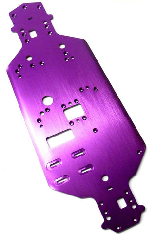 02001 1/10 Car Alloy Aluminium Purple Chassis Plate - HSP Sonic Parts