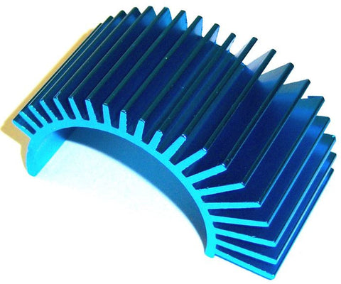 03300 RC 540 550 Heatsink Heat Sink Blue - Brontosaurus HSP Hi Speed Parts