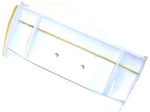 06100 1/10 Scale RC Buggy Spoiler Rear Wing White V2
