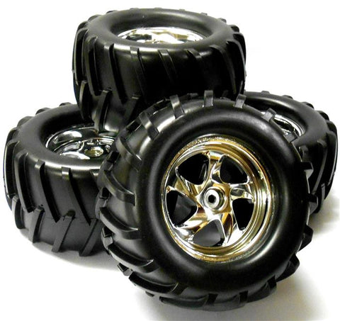 083040 1/8 Scale Off Road RC Truck Wheels and Tyres 4
