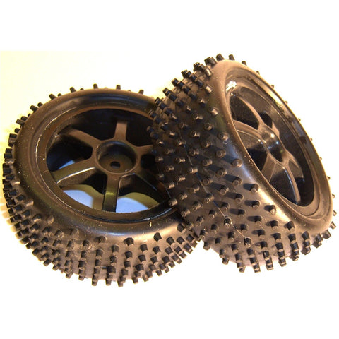 11401 1/10 Scale Off Road Buggy Wheels and Tyres Front