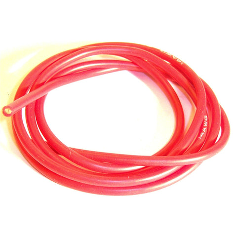 C1307-12 12AWG 12 AWG Silicone Battery Wire 1m 100cm Red