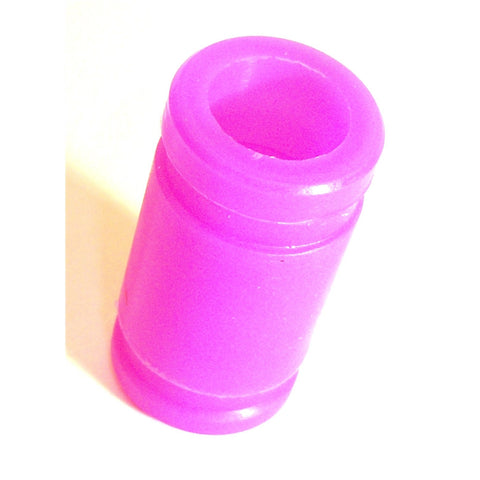 A10005P 1/8 RC Nitro Engine Silicone Joint Coupling Pipe 45mm Long x 1 Purple
