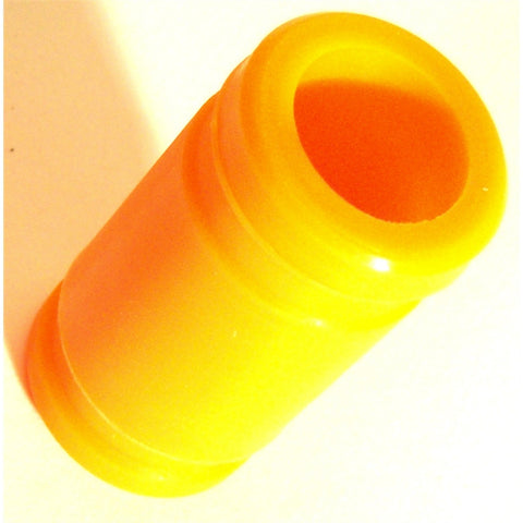 A10005O 1/8 RC Nitro Engine Silicone Joint Coupling Pipe 45mm Long x 1 Orange