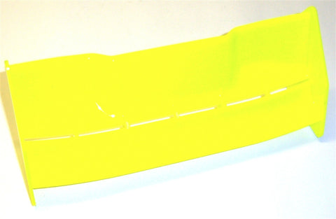 242000017 1/8 Scale Rear Wing Neon Yellow Spoiler Nitro RC Downforce