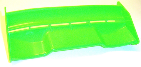 242000019 1/8 Scale Rear Wing Green Spoiler Nitro RC Downforce