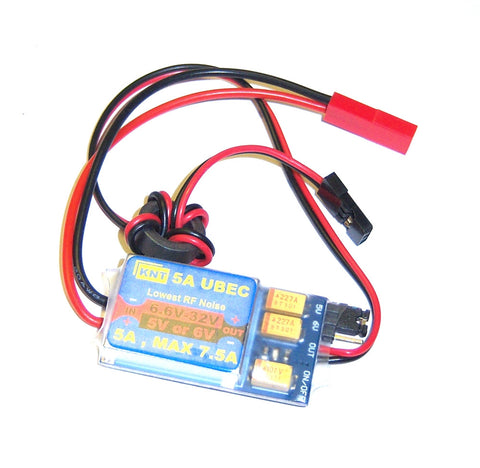 5a UBEC Max 7.5a Universal Battery Eliminator Circuit 5v or 6v option 6.6v-32v