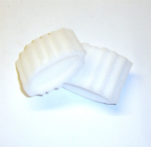 4850-0020 1/8 Scale RC Nitro Engine Buggy Air Dust Filter (external) x 2 White