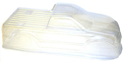 08035 88007 RC 1/10 Scale Monster Truck Body Shell Cover HSP Clear Unpainted Cut