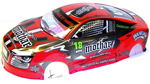 L690 1/10 Scale Drift Touring Car Body Cover Shell RC Red Uncut