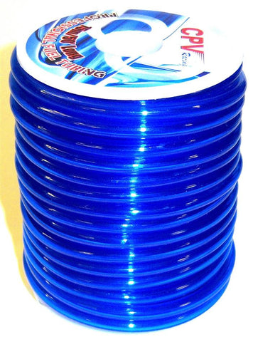 51826B Neon Blue RC Engine Petrol / Nitro Gas Fuel Line 1 Meter 5mm x 2.5mm