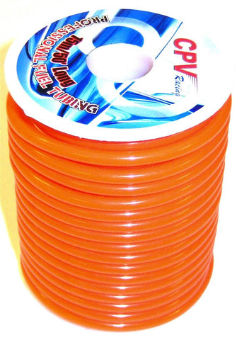 51821 Orange RC Engine Nitro Glow Fuel Line 1 Meter 5mm OD x 2mm ID